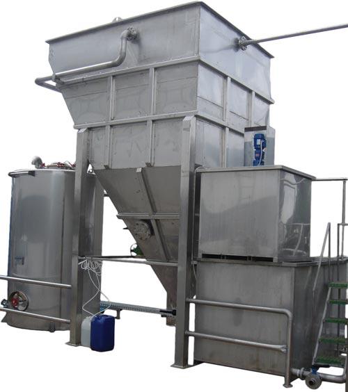 trattamento acque reflue chimico fisico