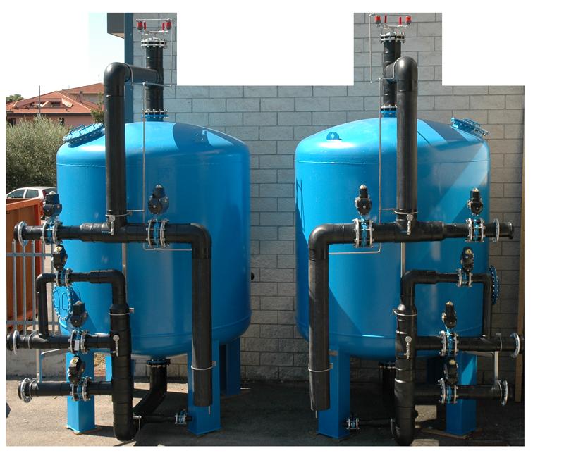 filtri trattamento acque