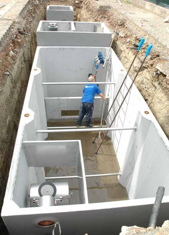 trattamento acque reflue