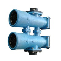 Valves and control units for softeners, filters, demineralisers and other treatments