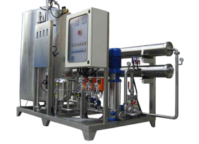 Osmosi inversa ROT 50 realizzata completamente in AISI 316. Reverse osmosis ROT 50 completely realized in AISI 316