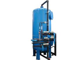Decarbonatatore con portata oraria di 30 mc. Carbon removal systems with hourly flow of 30 mc/h.