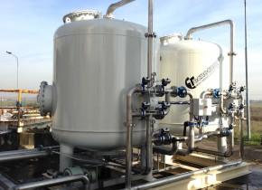 Deferrizzatore acqua di pozzo da 40 mch. Iron removal from well water from 40 mch.